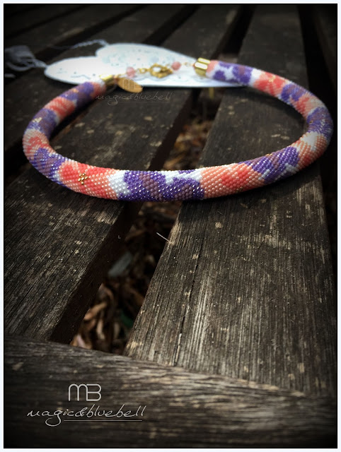 Beadcrochet necklace