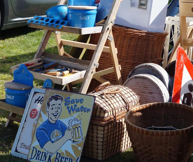 Tolle Erlebnisse in und um Blavand: Ausflugstipps für Familien. Der Flohmarkt bzw. Pfingstmarkt in Blavand lohnt sich!