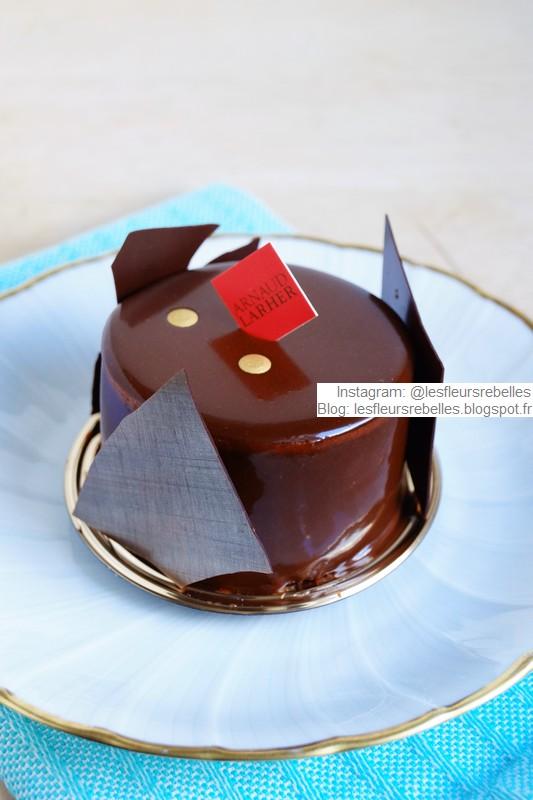 Pâtisserie Arnaud Larher gâteau Le Rêve chocolat caramel