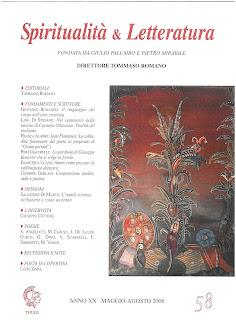 Recuperi/25 - AA.VV., Spiritualità & Letteratura, n. 58