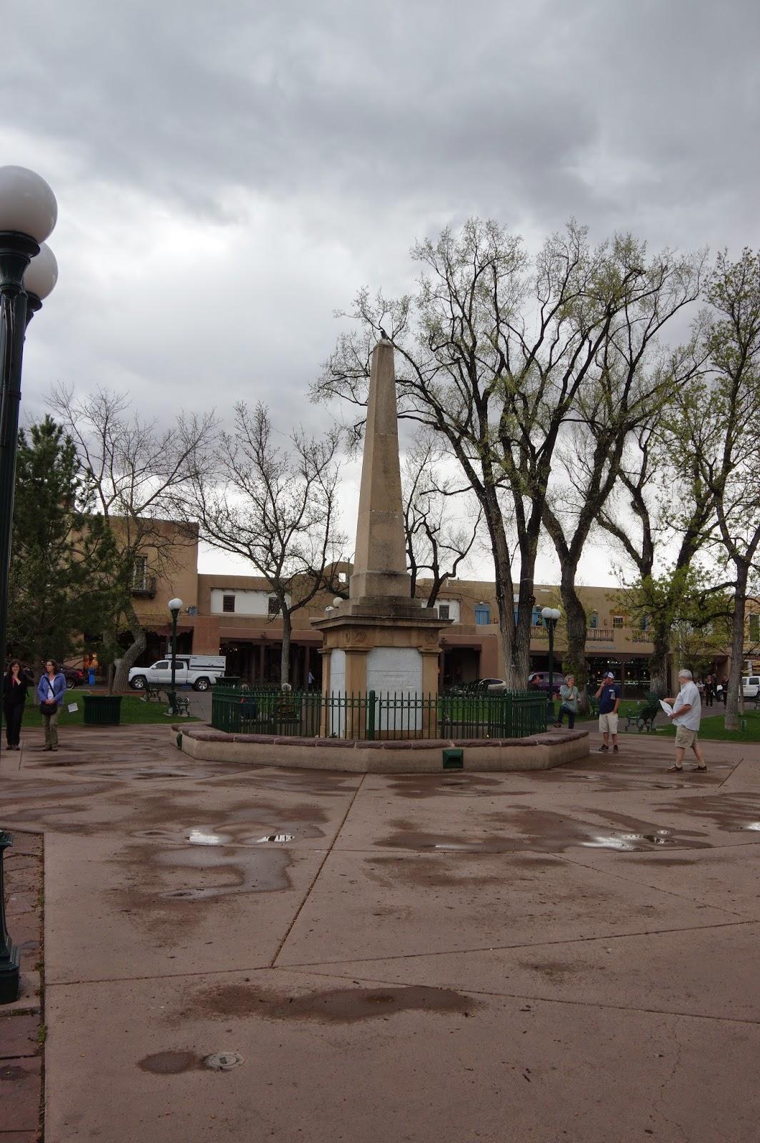 Some Gave All Santa Fe Plaza Obelisk Santa Fe Plaza Santa Fe New Mexico
