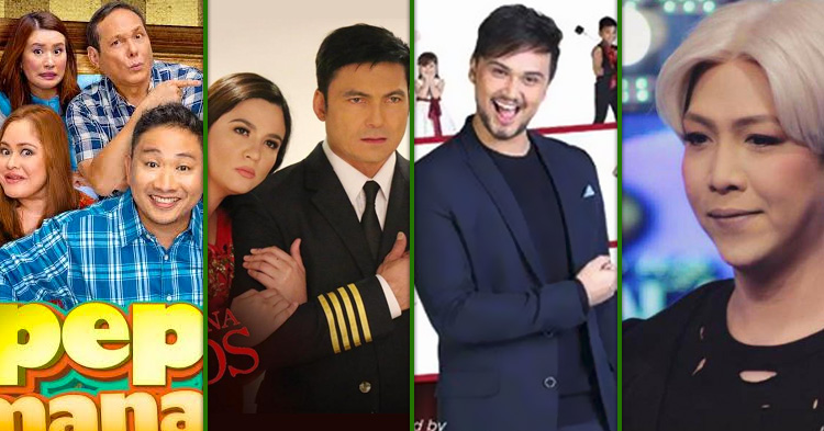 Michael V., Gabby Concepcion and Sunshine Dizon, Vice Ganda and Billy Crawford.