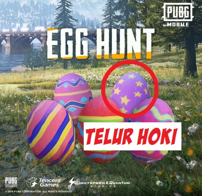 Cara Mendapatkan Telur Hoki di PUBG Mobile Untuk Ditukar dengan Hadiah Menarik
