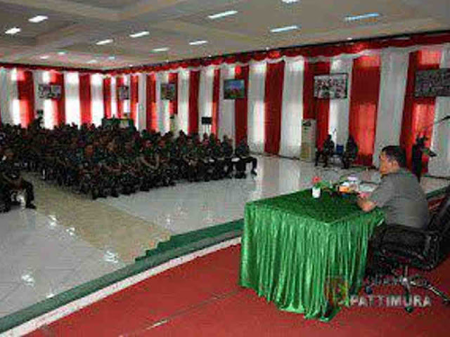 Marga Taufiqa Kunjungi Satuan Jajaran Kodam Pattimura di Kota Ambon