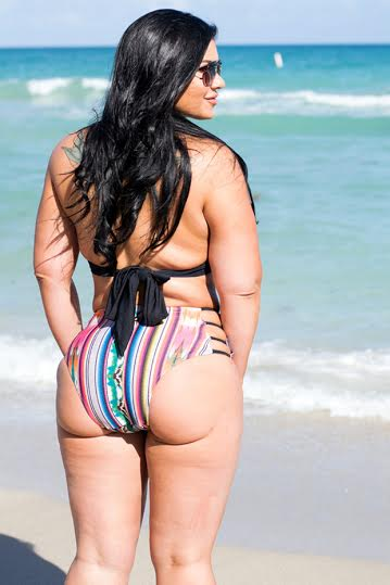 Woman has her own fat pumped into butt to get Kim Kardashian curves