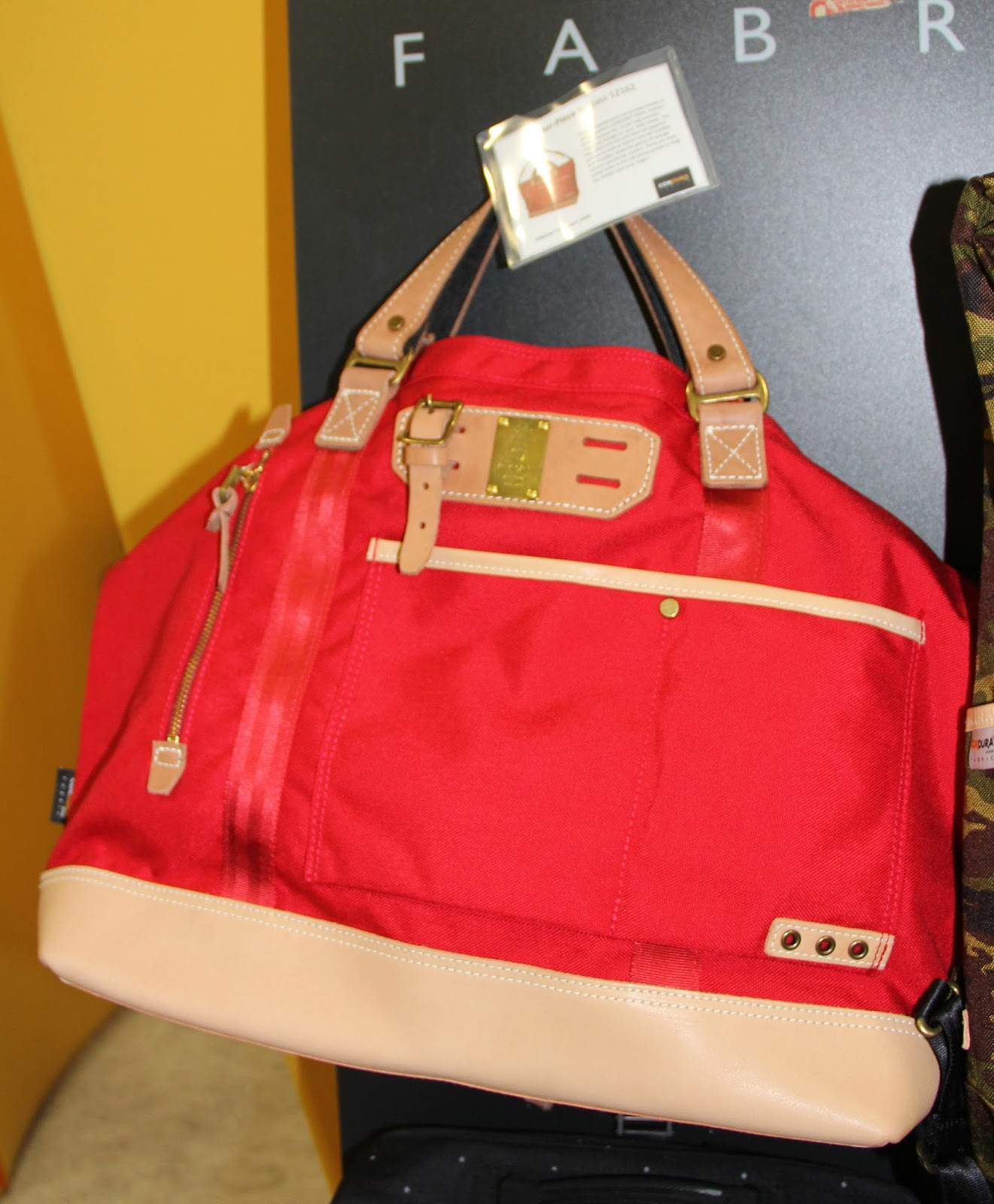 14dc4992248 Hedge leather and Cordura® tough canvas-Master Piece Surpass No.  12162-internal external zipped pockets