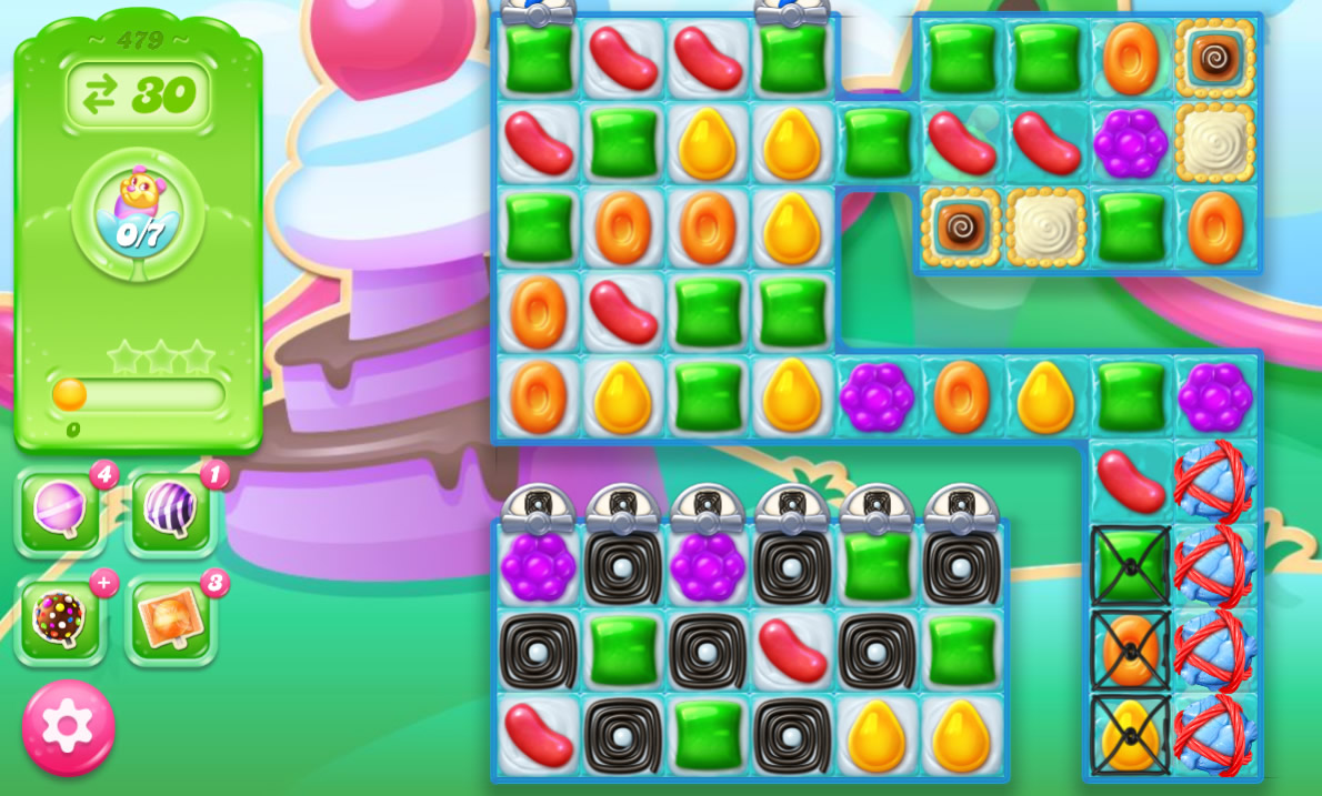 Candy Crush Jelly Saga 479