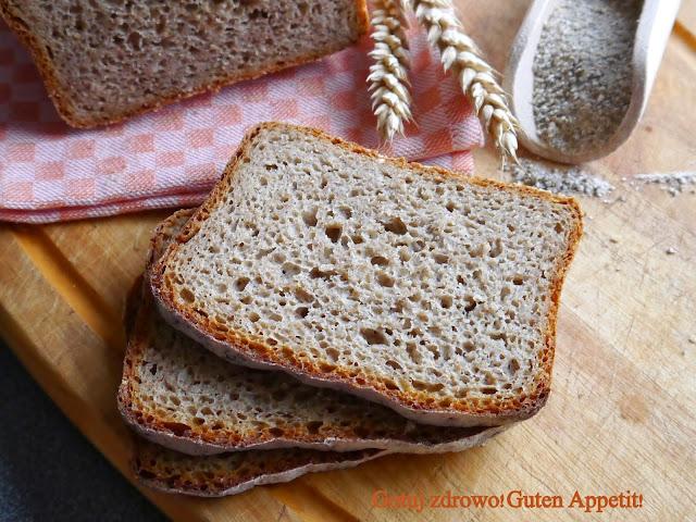 Chleb żytni z mąką pszenną razową i łamanym ziarnem żyta wg J.Hamelmana - Czytaj więcej »