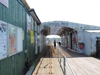 hythe pier ferry terminal