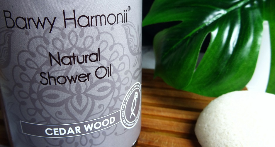 NATURAL SHOWER OIL - CEDAR WOOD / BARWA, naturalne kosmetyki