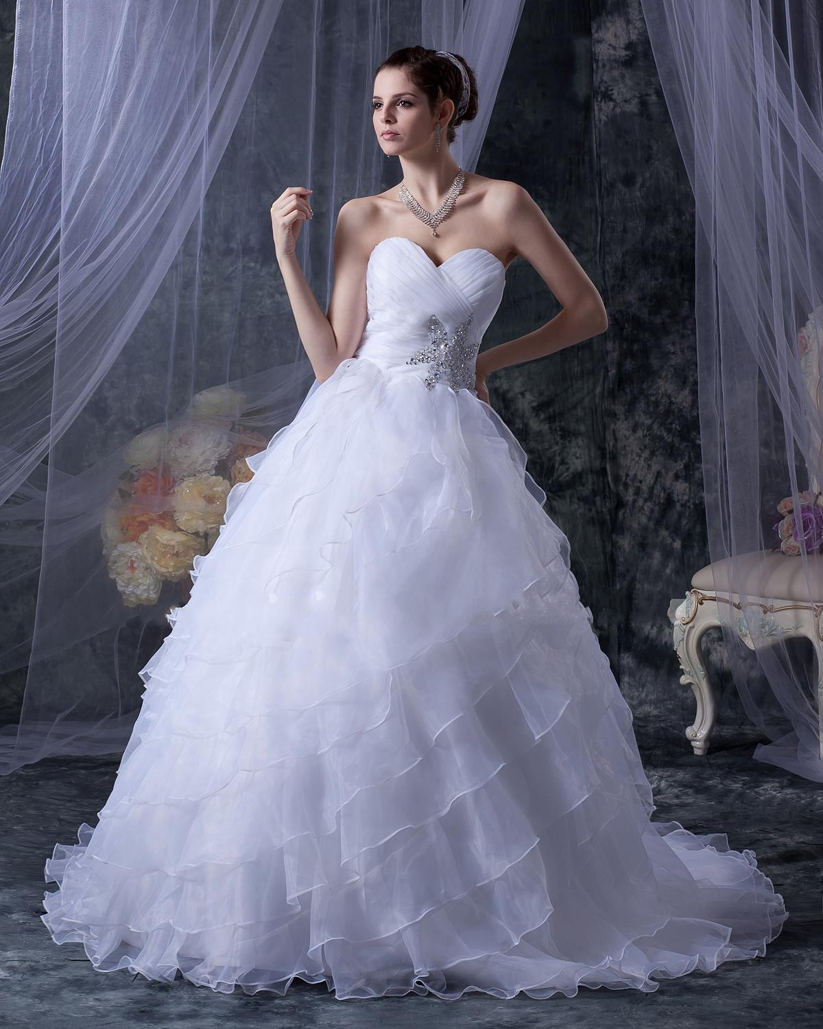 Empire Ball Gown Wedding Dresses