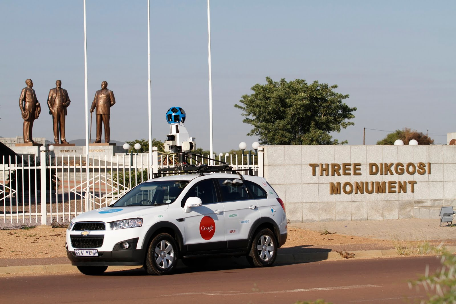 Street View on Google Maps now live in Botswana - Innovation ... on maps google address, google street view car, google send to car, maps driving directions by car,