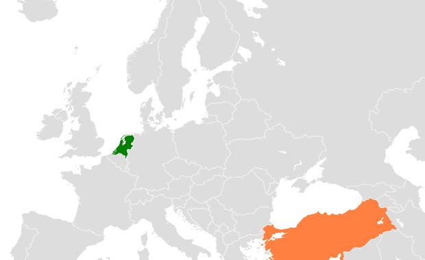 Διπλωματικά διαβήματα της Τουρκίας στην Ολλανδία