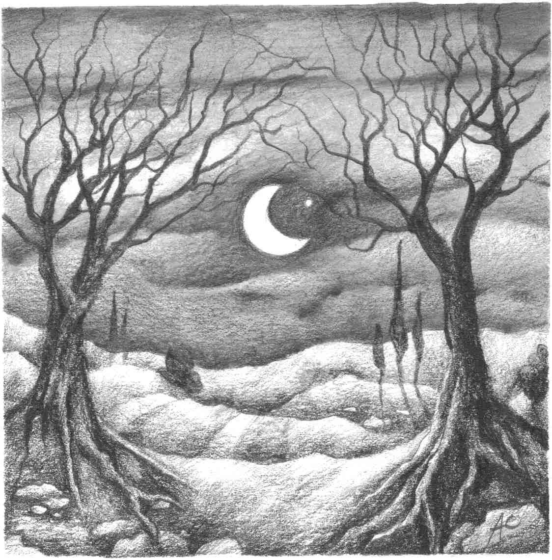 Beautiful Nature Pencil Drawings: Earth Angels Art. Art And Illustrations By Amanda Clark: A