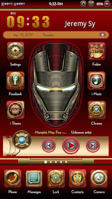 Iron Man Theme itz For Vivo