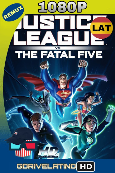 Justice League vs The Fatal Five (2019) BDRemux 1080p Latino-Ingles MKV