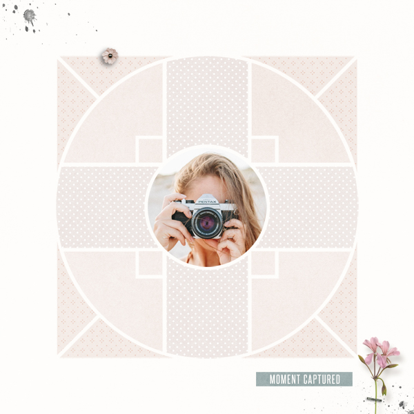 compass 8 © sylvia • sro 2018 • compass 8 digital scrapbook template by léa france