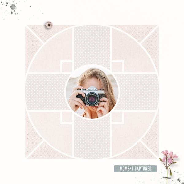 compass 8 © sylvia • sro 2018 • compass 8 digital scrapbook template by léa france