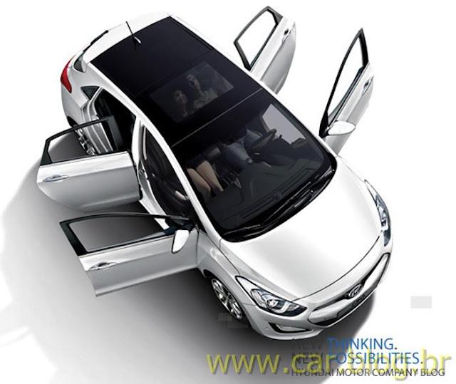 Imagem Oficial No Novo Hyundai I30 2012 233 Revelada Car