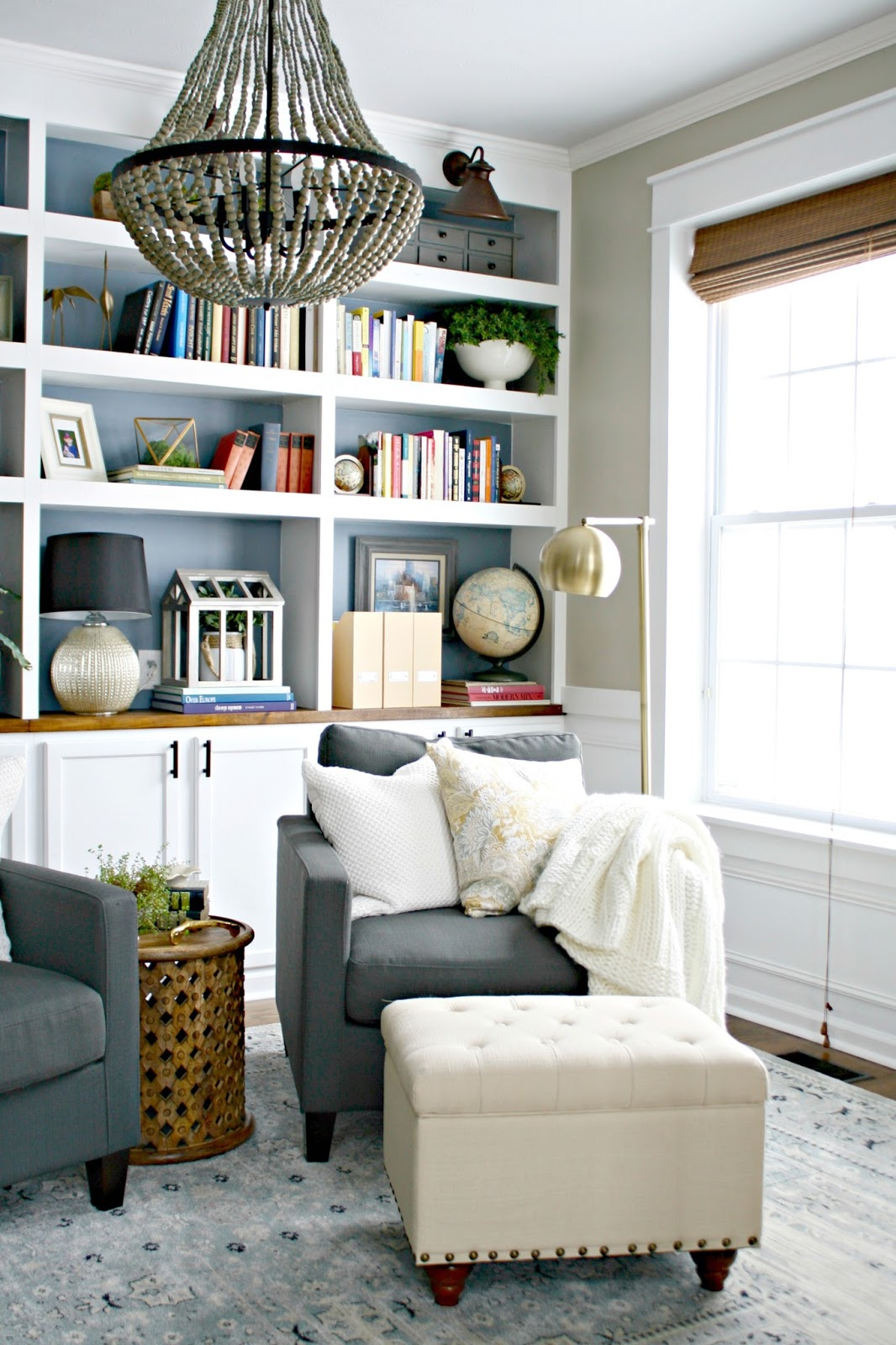 My favorite target lighting from thrifty decor chick i love mixing styles just a bit im not an eclectic decorator per se but i do like some unexpected touches that turned floor lamp aloadofball Image collections