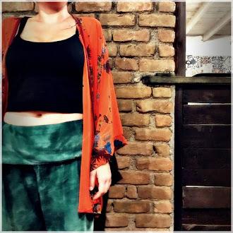 Der erste Kimono den ich gen h