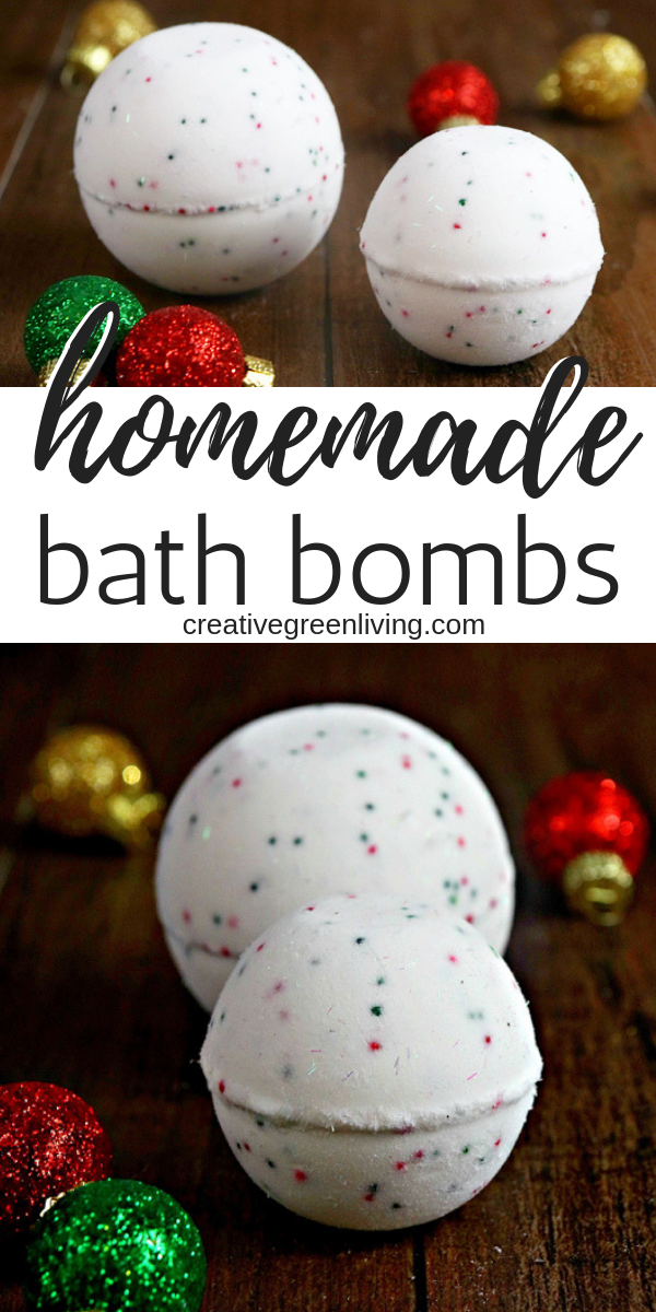 Make DIY bath bombs just like Lush! Learn how to make homemade bath bombs without epsom salt. These homemade bath bomb tutorials will teach you how to make bath bombs with essential oils that smell awesome and add some fun to your bath!  #creativegreenliving #bathbombs #lush #bathbodyworks #DIYbeauty #essentialoils #beauty #beautyhacks #bathfizz #bathbombrecipe