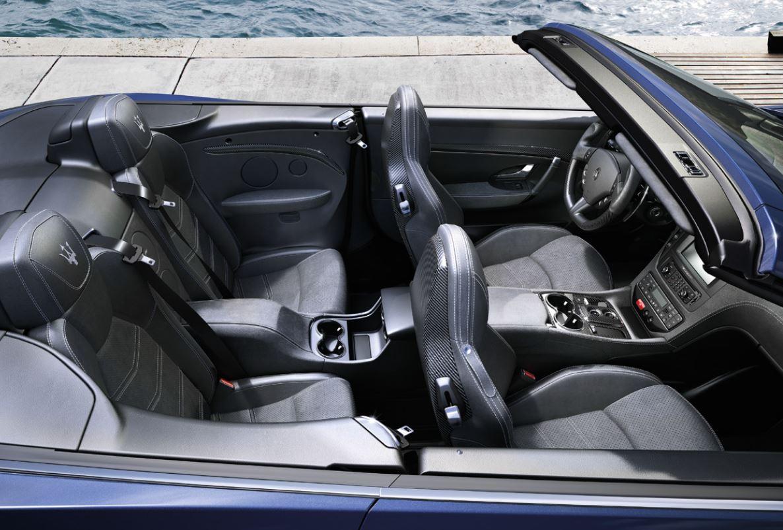 Dimensioni degli interni di Maserati Gran Turismo