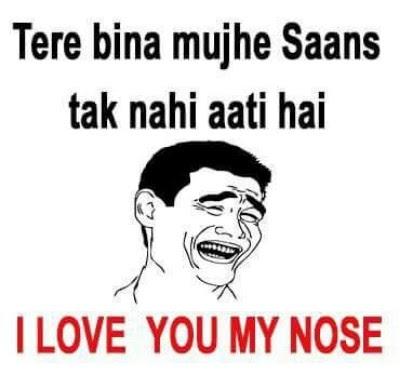 dekh bhai whatsapp funny picture