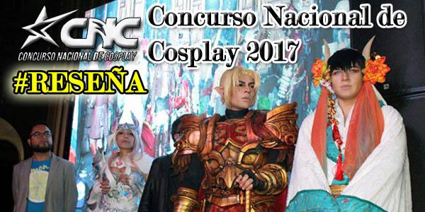 Concurso Nacional de Cosplay 2017