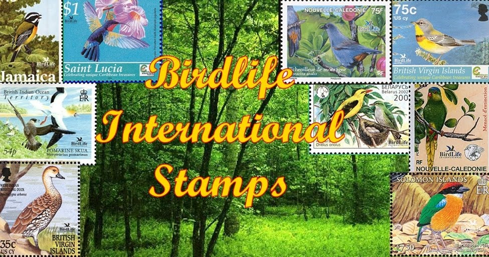 Birdlife International  Stamps