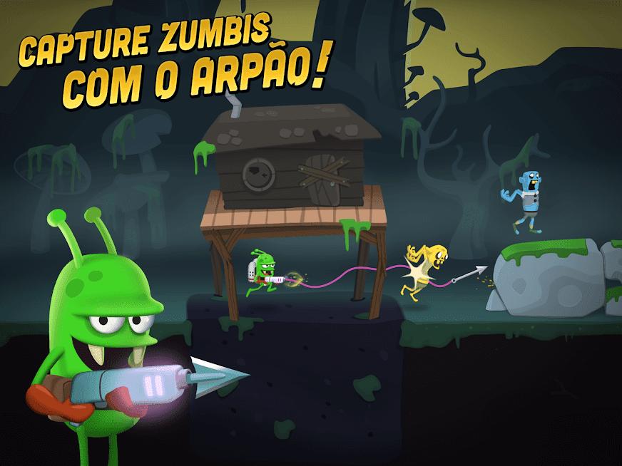 Zombie Catchers v 1.30.5 apk mod DINHEIRO / PLUTÔNIO INFINITO