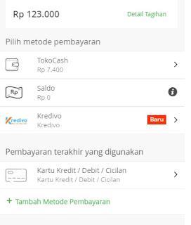Cara menggunakan kartu Kredit di Tokopedia