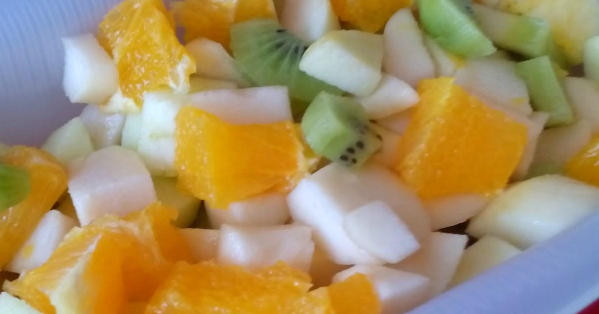 Recetas f cil con bela ensalada de frutas o macedonia de - Macedonia de frutas thermomix ...