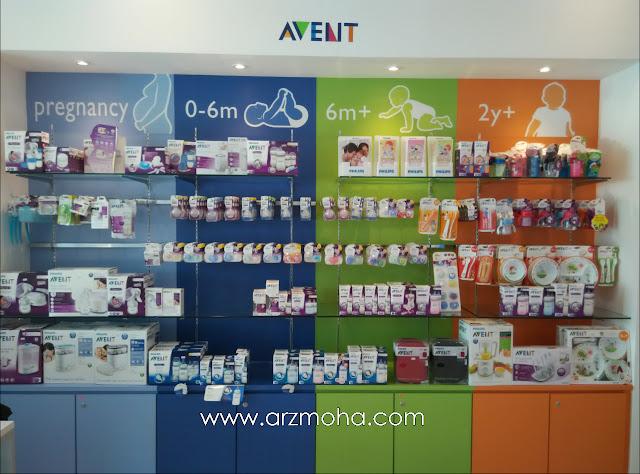 philips experience store bayan baru, philips penang experience store, philips avent, produk botol susu bayi,