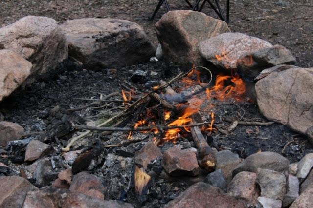 Cara Membuat Api Unggun
