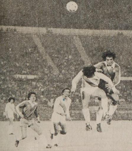 Chile y Colombia en partido amistoso, 10 de marzo de 1981