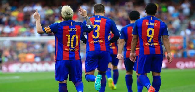 تشكيلة برشلونة لمواجهة ريال بيتيس في إفتتاحية الدوري الإسباني