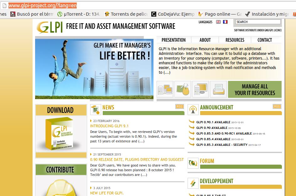 Instalar GLPI en un hosting de Internet importando la instalación de ...