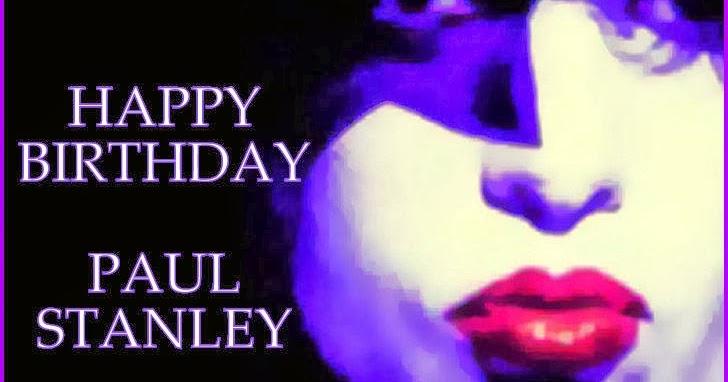 Kissopolis Happy Birthday Paul Stanley