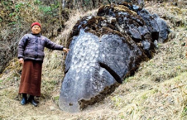 ASI discovers Buddha engravings in Arunachal