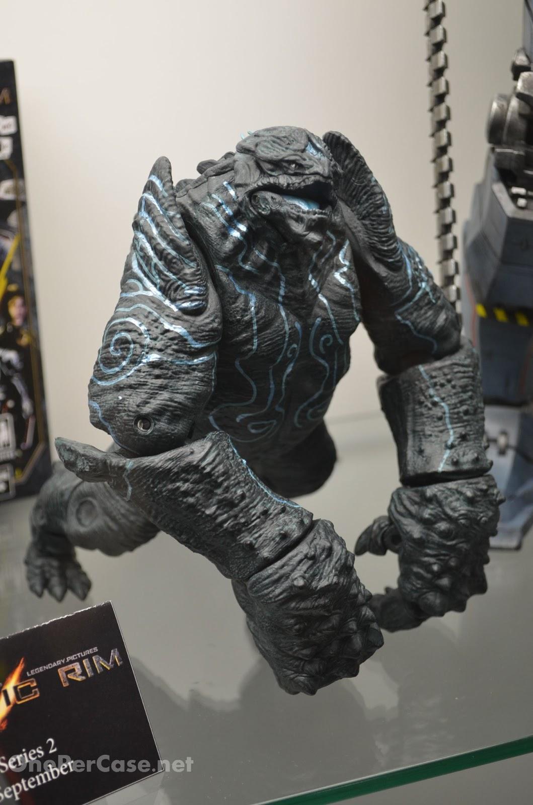 Kaiju Battle: SDCC Pacific Rim Leatherback, Godzilla ...