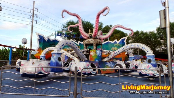 Octopus Ride Sky Ranch Pampanga by MarjorieUy