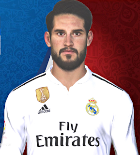 PES 2017 Faces Isco by Huseyn