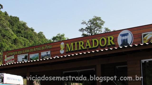 Parador Mirante da Serra, Itati, RS