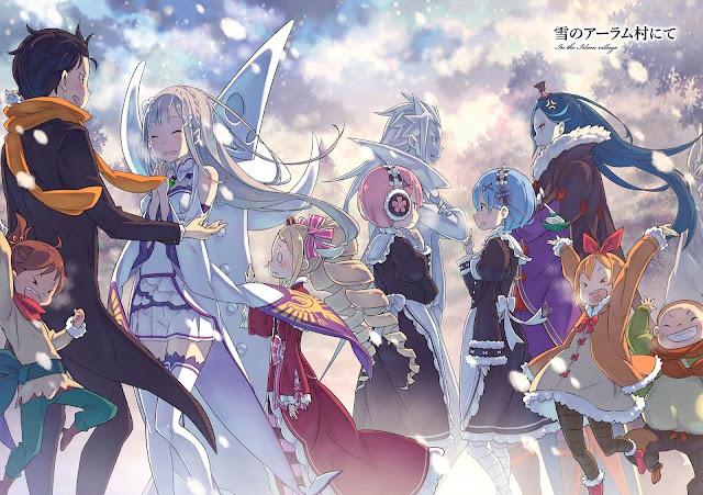 Download OST Opening Ending+Insert Song Anime Re:Zero kara Hajimeru Isekai Seikatsu Full Version