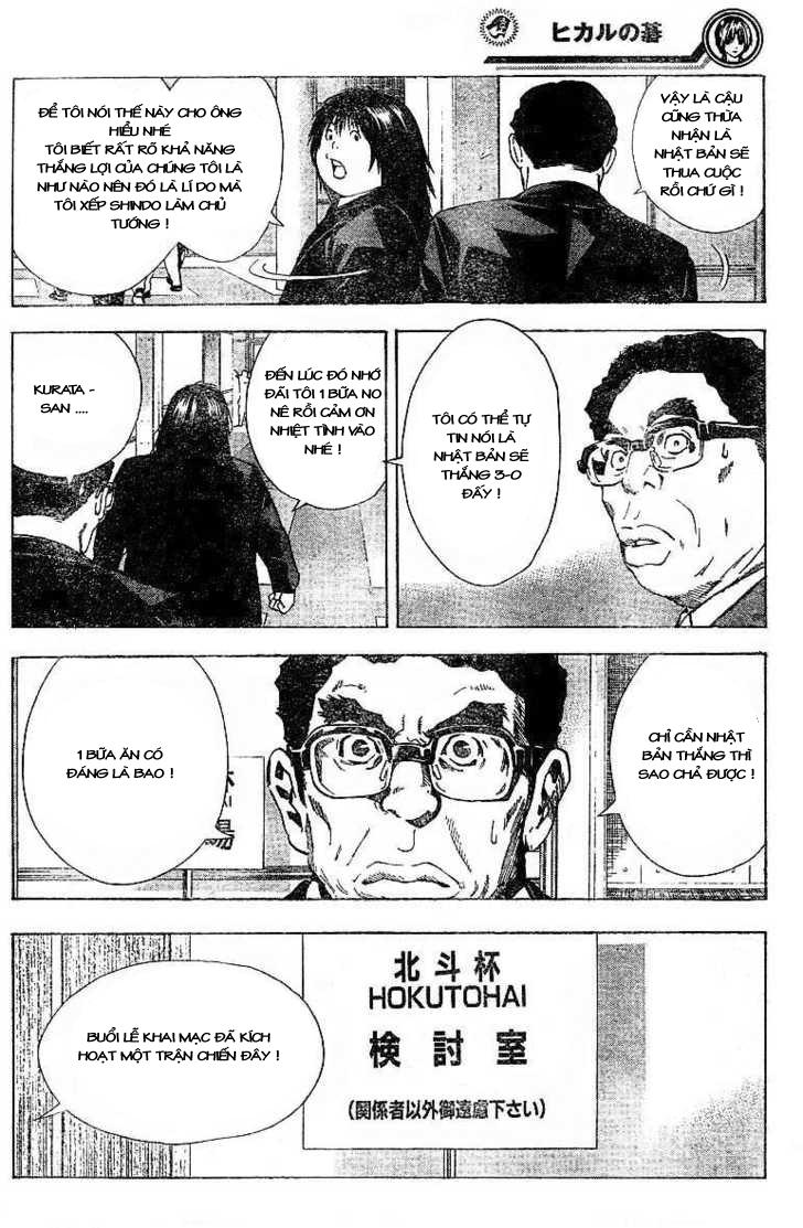 Hikaru No Go hikaru no go chap 184 trang 10