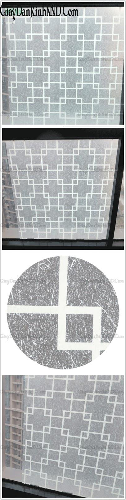Decal dán kính trang trí mã A26