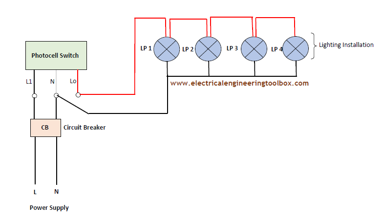 single phase 240 volt photocell wiring diagram  for 01 ford