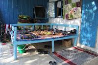 Tajikistan, Khujand,  Ghozyion, Saïdkhon, topchan, © L. Gigout, 2012
