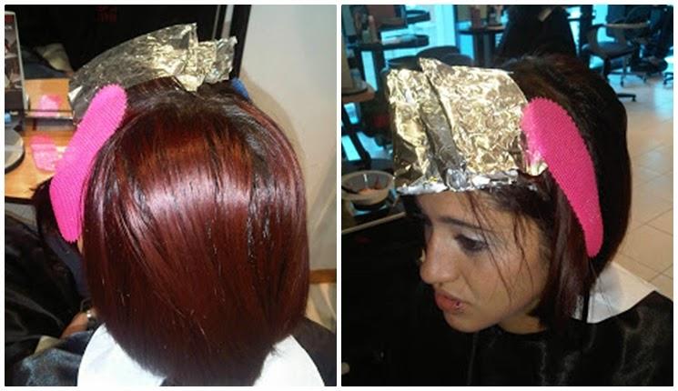 coloracion del cabello